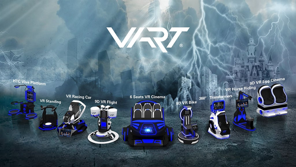 9D VR Egg Seats